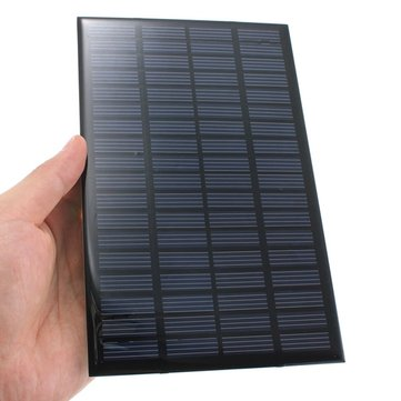 18V 2.5W Polycrystalline Mini Solar Panel Photovoltaic Panel