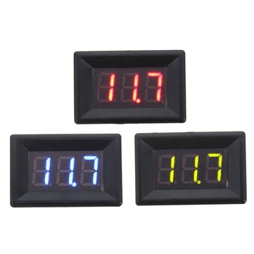 0.36 Inch DC 0-30V 3 Wire Voltmeter LED Volt Tester Digital Display Panel