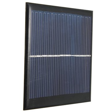 5.5V 1W 180mA Polycrystalline 95mm x 95mm Mini Solar Panel Photovoltaic Panel