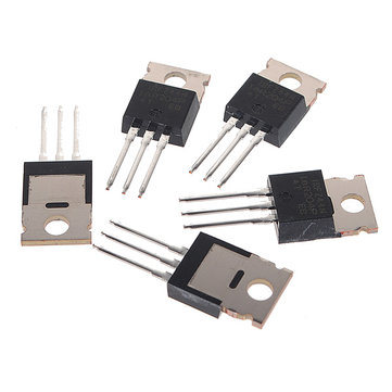 10Pcs IRFZ44N Transistor N-Channel Rectifier Power Mosfet