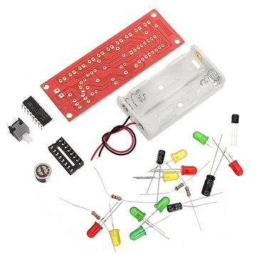 3Pcs CD4017 Voice Control LED Flashing Kit Electronic DIY Kit