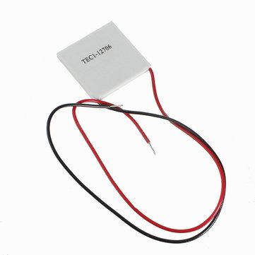 5pcs tec1-12706 40x40mm raffreddamento termoelettrico piatto Peltier 12v 60w