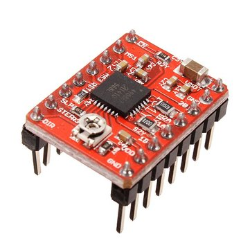 5Pcs Geekcreit® 3D Printer A4988 Reprap Stepping Stepper Step Motor Driver Module