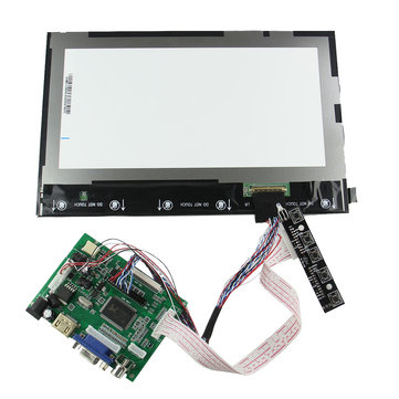 10.1 Inch 1280 x 800 Digital IPS Screen + Drive Board For Raspberry Pi