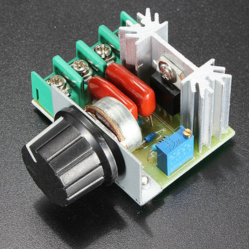 3Pcs 2000W Speed Controller SCR Voltage Regulator Dimmer Thermostat