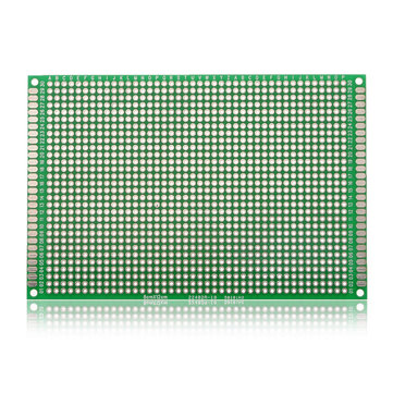 5Pcs 80*120mm FR-4 Double-Side Prototype PCB Printed Circuit Board