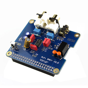 PiFi HIFI DAC+ Digital Audio Card Pinboard For Raspberry Pi 3 Model B /2B/B+/A+