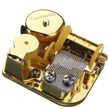 DIY Windup Music Box Movement Screws Key Castle In The Sky Song