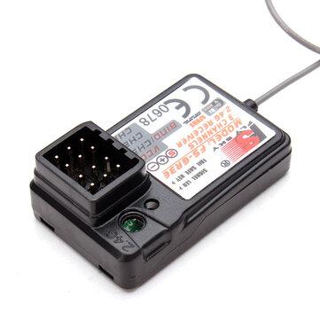 Flysky Receptor FS-GR3E para GT2/GT2B/GT3/GT3B/GT3C/T6/CT6B/GR3E/TH9X Transmisor