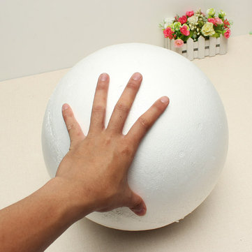 Polystyrene Ball Solid Sphere Halves Craft Party Decoration Wedding