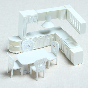 The Model Material Indoor Scene Decoration Kitchen Set