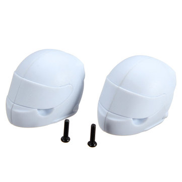 FS Racing 1/10 Desert Buggy White Color Helmet 2PCS 539087