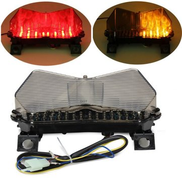 Smoke LED Signal Tail Light For Kawasaki Ninja ZX-6RR / ZX600