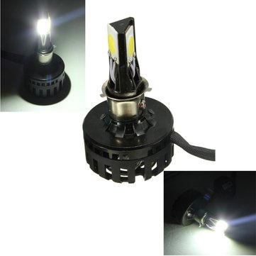 12W 18W 1800LM White LED Motorcycle Headlight Hi/Lo Beam Lamp