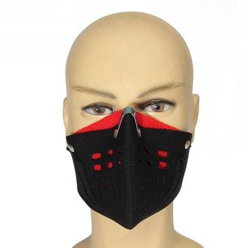 Motosiklet Bisiklet Yarışı Kayak Yarısı Anti Toz Yüzü Maske