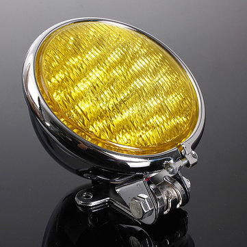 Black Chrome Motorcycle LED Headlight Lamp For Harley Davison