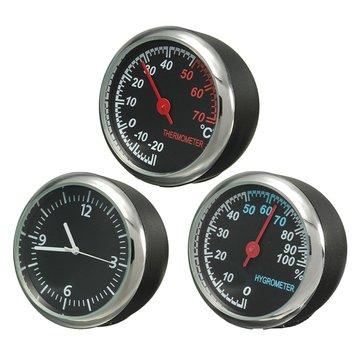 Puntatore principale termometro della meccanica orologio igrometro tempo acciaio per auto motor