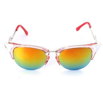 Retrò uomo donna specchio lenti uv400 occhiali da sole vintage a cavallo