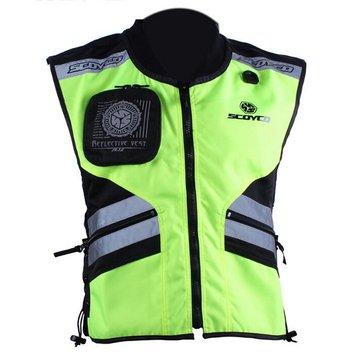 Scoyco JK32 Motorcycle Reflecting Racing Vest Safety Clothing