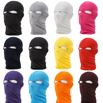 Lycra Motorcycle Riding Ski Neck Protection Full Face Mask