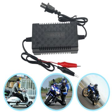 Motorcycle Scooter Lead Acid Intelligent Pulse Battery Charger