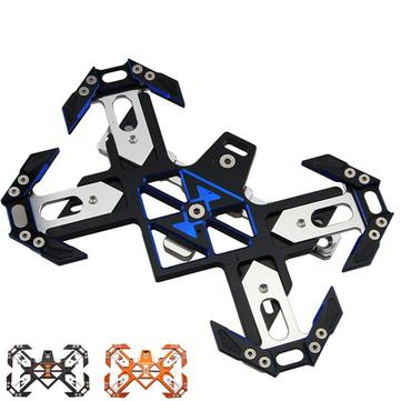 CNC Decorative License Plate Frame T6061 For Motorcycle Scooter Electric Bikeb B Model
