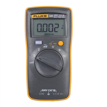 FLUKE F101 600V CATⅢ Pocket Digital Multimeter Auto Range