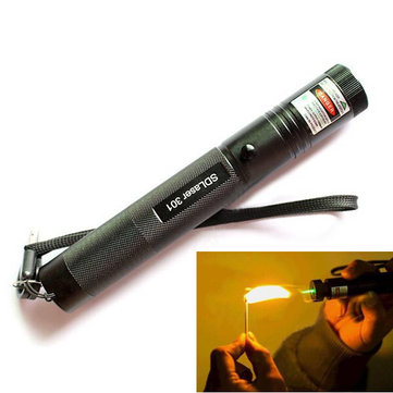 Burning Laser 301 Green Laser Pointer Flashlight High Power Laser 5mw