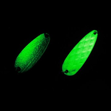 Luminous Sequins Bait Spiral Hyperbolic Sequins Lures Bass Lures