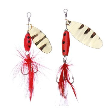 Paillette Spoon Lures Bass Lures Sequin Treble Hook Spinner Bait