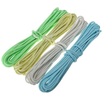 20FT Multifunction Nylon Paracord Parachute Cord Luminous Glow in Dark