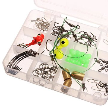 Assorted Fishing Tackle Accessory Fishing Hook Accessory Box