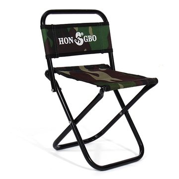 Camouflage Folding Stool Canvas Portable Double Folding Fishing Chair