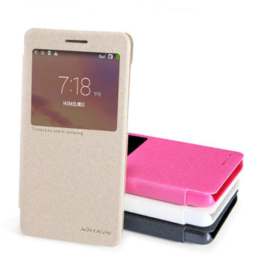 Nillkin Sparkle Series Flip Leather Case Cover For Lenovo A536