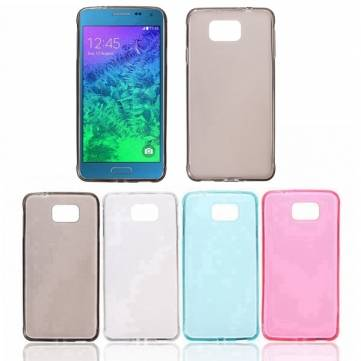 Slim Matte TPU Soft Back Cover Case For Samsung Galaxy Alpha G850