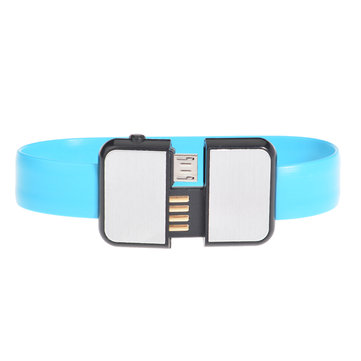 Bracelet Micro Usb Data Sync Charging V8 Cable For Mobile Phone