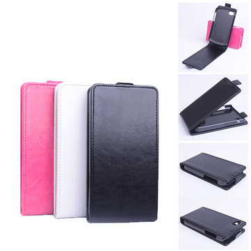 Up Down Flip Leather Protective Cover Case for Blackberry Q10