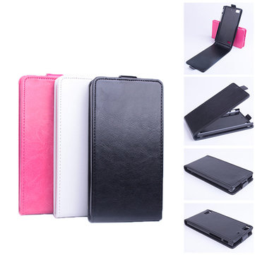 Up Down Flip Pu Leather Protective Case Cover for Blackberry Z3