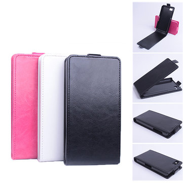 Up Down PU Flip Leather Protective Case Cover for Blackberry Z10