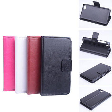 Flip Pu Leather Protective Case Cover For Blackberry Z10