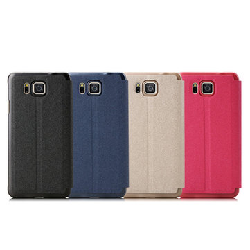 BEPAK Flip PU Leather Case For Samsung GALAXY Alpha G8508S