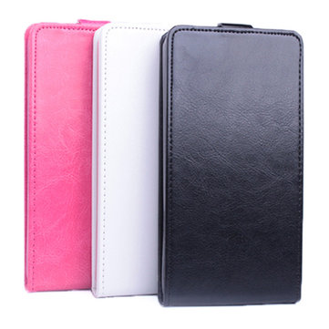 Flip Up And Down PU Leather Case Cover For Blackberry 9320