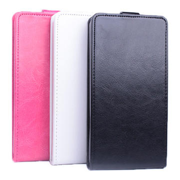 Flip Up And Down Leather Case For Microsoft Lumia 640