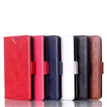 New Shine Smooth Wallet Pu Leather Case Cover For HTC Desire 816
