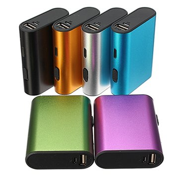 6000mAh Portable External Battery USB Charger Power Bank Cable