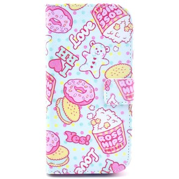 Little Bear Biscuit TPU Leather Protective Case For HTC ONE M8