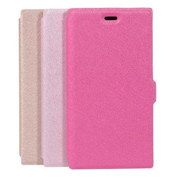 Grain de soie de luxe en cuir PU cas de protection de téléphone pour xiaomi3
