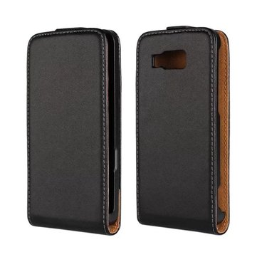 Flip Leather Protective Case Cover for Huawei Ascend W2 Smartphone