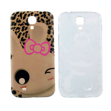 Lovely Rabbit Anaglyph Phone Back Cover For Samsung Galaxy S4 i9500