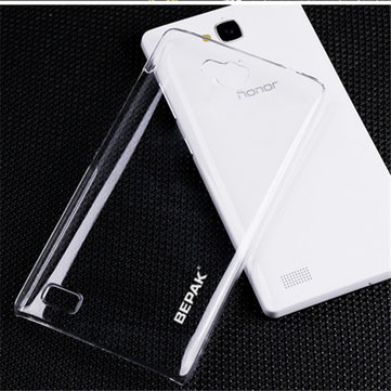 BEPAK Ultra Thin Crystal Invisible Hard Case Cover For Huawei Honor 3C